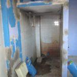πριν την ανακαίνιση, παλαιό μπάνιο, θέση Πεύκη