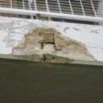 εξωτερική επισκευή εκτεταμένης ζημιάς σε μπαλκόνι
